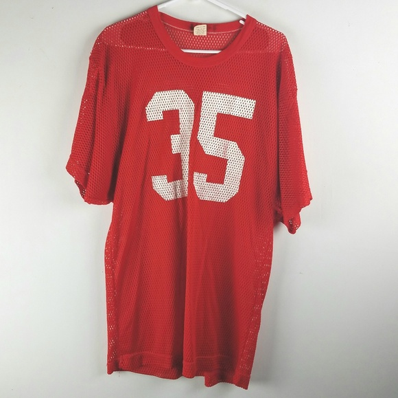 Russell Athletic Other - RUSSELL VTG ATHLETIC POLYESTER MESH FOOTBALL